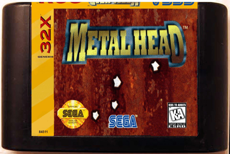 Metal Head (Sega Genesis 32X) � Reproduction Video Game Cartridge