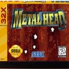 Metal Head (Sega Genesis 32X) – Reproduction Video Game Cartridge