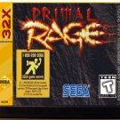 Primal Rage – (Sega 32X) – Video Game Reproduction Cartridge $26.99
