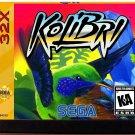 Kolibri (Sega Genesis 32X)- Reproduction Video Game Cartridge