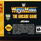 WWF Wrestlemania: The Arcade Game (Sega Genesis 32X) – Reproduction Video Game Cartridge