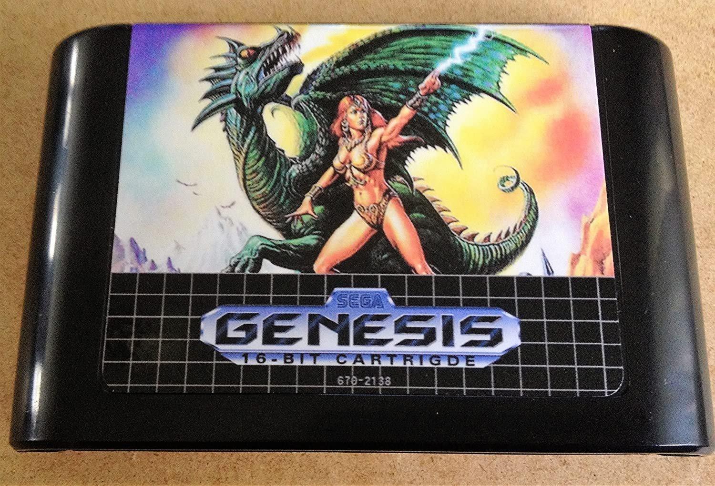 Alisia Dragoon (Sega Genesis) � Reproduction Video Game Cartridge