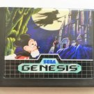 Castle of Illusion Starring Mickey Mouse – (Sega Genesis) – Reproduction Video Game Cartridge