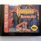 Castlevania Bloodlines (Sega Genesis / Mega Drive) – Reproduction Video Game Cartridge