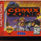 Comix Zone – (Sega Genesis) – Reproduction Video Game Cartridge