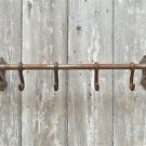 CAST IRON ANTIQUE STYLE WALL HOOK RACK KITCHEN HOOKS RACK HANGER AD1