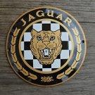 Quality porcelain advertising sign Jaguar garage plaque round J2
