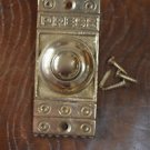Victorian style brass front doorbell push button bell pusher door bell Z3