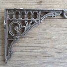 Antique style cast iron hook bracket lantern shelf bracket hanging basket SLB1