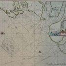 OLD COPY OF GREENVILE COLLINS MAP HARWICH ESSEX COASTLINE