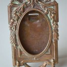 Miniature antique brass photograph frame table top picture frame photo PF11