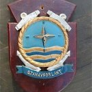 DECORATIVE COAT OF ARMS ARMORIAL PLAQUE STANDING NAVAL FORCES ATLANTIC