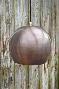 Cool Danish style ball antiqued copper ceiling light hanging  lamp shade RBSN