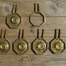 SET OF 5 ANTIQUE BRASS FURNITURE HANDLES CHEST OF DRAWERS DRAWER HANDLE OP1