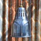 URBAN CHIC POLISHED METAL HANGING VENTED LIGHT PENDANT SHADE CEILING LAMP UCPG3