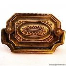 SUPERB QUALITY ANTIQUE STYLE BRASS FURNITURE HANDLE GEORGIAN DRAWER PULL W61
