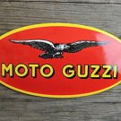 Superb heavy quality porcelain advertising sign motorcycle wall plaque M1