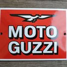 Superb heavy quality porcelain advertising sign motorcycle wall plaque M2