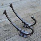 Pair of Arts & Crafts simple cast iron coathook wall door hanger coat hook AL52
