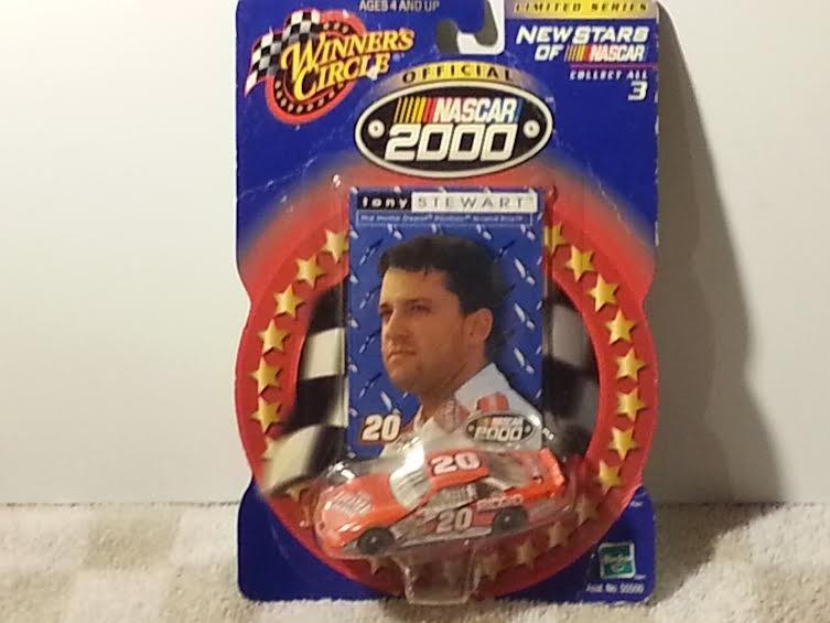 Winner's Circle Stars Nascar 2000 Tony Stewart