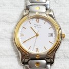 Caravelle By Bulova Two Tone Quartz Watch Stainless Steel Back