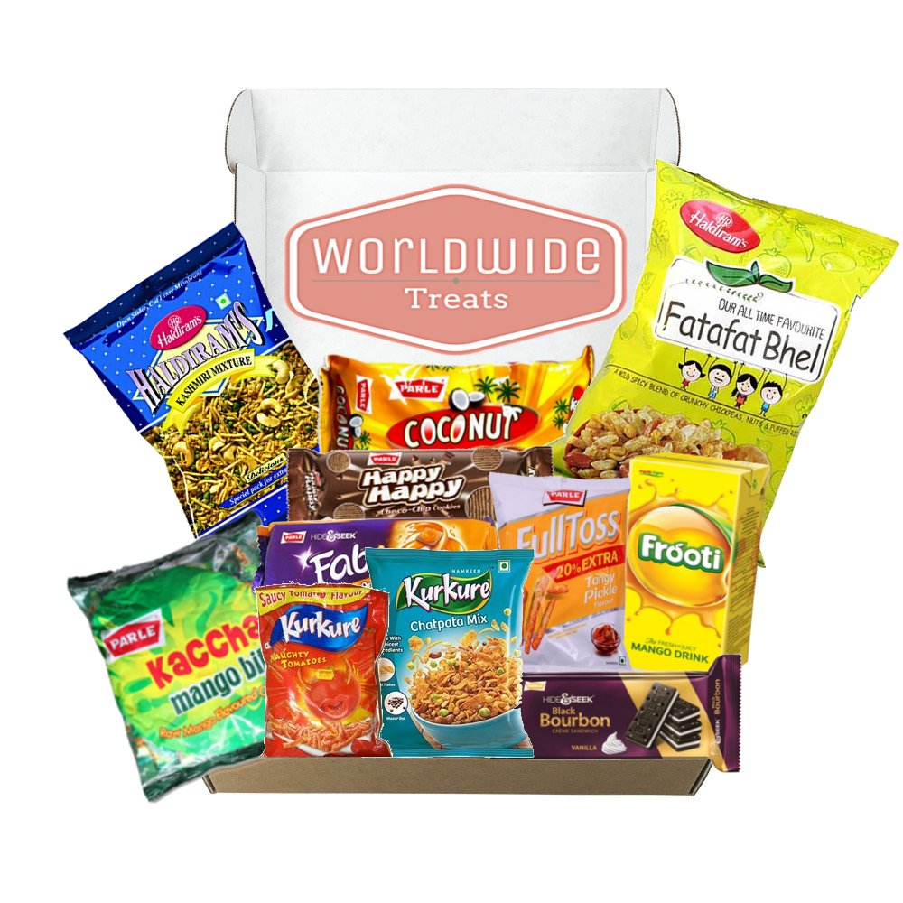New Indian Snack Mix Package! Snacks from India! Ships TODAY!