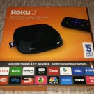 Roku 2 Model 4210RW Media Streamer-USED