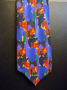 Christopher Reeve Designer Tie Paul Newman Collection 100% Silk FREE Shipping