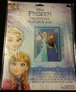 Disney Frozen Valentine Mailbox Kit  Valentine's Day NEW!!!