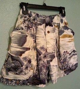 Tommy Bahama Bungalow Brand Swim Trunks Shorts Size Medium Hunters