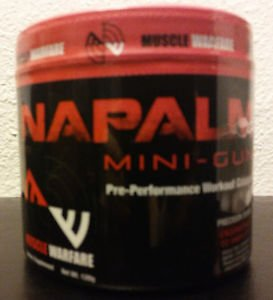 Napalm Mini-Gun Pre-Performance Workout Catalyst-NEW