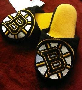 NHL Boston Bruins Child's Mascot Slippers - LARGE (5-6) NWT