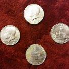 1776- 1976 Bicentennial Kennedy Half Dollar Circulated US Coin 50 Cent