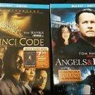 The DaVinci Code (10th Anniversary)/Angels & Demons [Blu-Ray+Digital]  NEW!!!