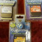 BuzzTime Trivia Game Cartridges-Sports, History, TV  NEW!!