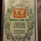 TV Guide Jan 25-31, 1964 America's Long Vigil ( Kennedy's Assassination )