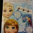 DISNEY FROZEN VALENTINES DAY CARDS & Bracelet Tattoo & Mini Poster NEW (SET OF 2