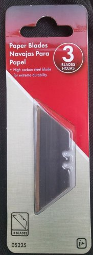 REPLACEMENT BLADES, (3) UTILITY BLADES High Carbon Steel Extreme Durability