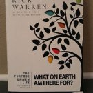 The Purpose Driven Life: What on Earth Am I Here For? By Rick Warren-NEW