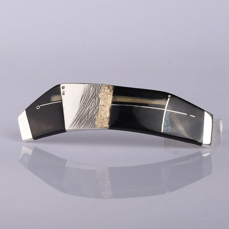 Sterling Silver Hair Barrette