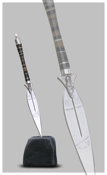 Letter opener - tobacco leaf Gifts for men Unique Business Gifts Corporate Gifts