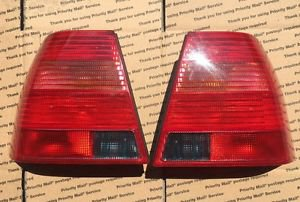 VW Mk4 Jetta GLX GLI Genuine OEM Tail Lights And Bulb Trays SHIPS FAST!!