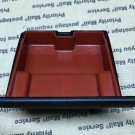 VW Cabrio MK3.5 99-02 Front Ashtray Red Insert Black Exterior 1H1 857 309