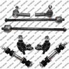 For 88 to 92 Toyota Corolla Front Steering Kit Tie Rod End Ball Joint Sway Bar