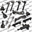 New Front End Kit Steering 2WD GMC C1500,C2500,Yukon, Tie Rods Ball Joint Pitman