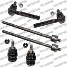 New Front Tie Rod End+Lower Ball Joint Steering Kit For Subaru Legacy-Impreza
