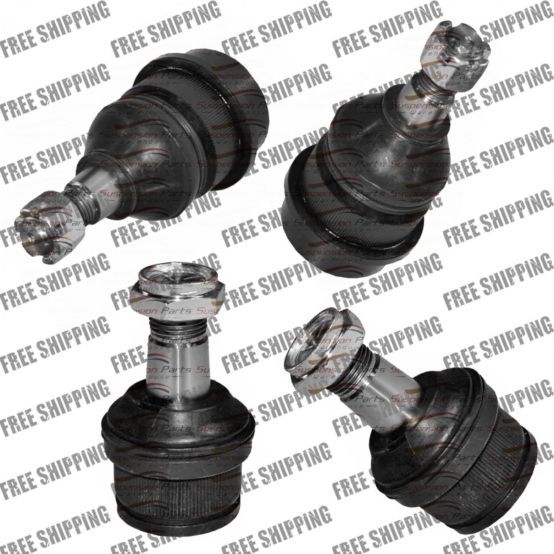 Suspension Upper Lower Ball Joint Set w/ Dana 44 axle Fits Dodge Ram 1500 & 2500
