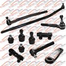 Front Steering Rebuild Kit Tie Rods Ball Joint Pitman Arm For Ford Excursion RWD