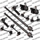 New Tie Rod End with Power Steering Sway Bar Link Ball Joint For Toyota Corolla