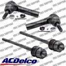 New ACDelco Advantage 4pc Front Steering Tie Rod End Set Kit for Chevy & GMC